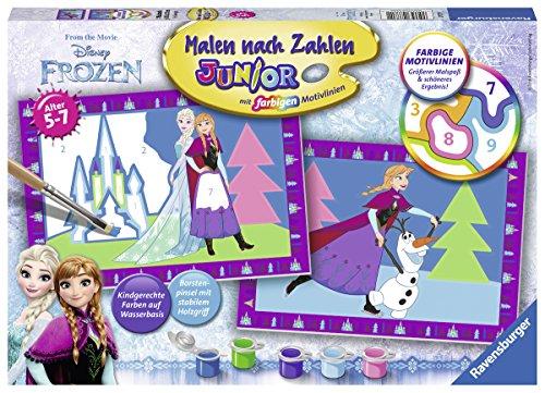 Ravensburger 27771 - Disney Frozen Die Eiskönigin - Malen nach Zahlen Junior
